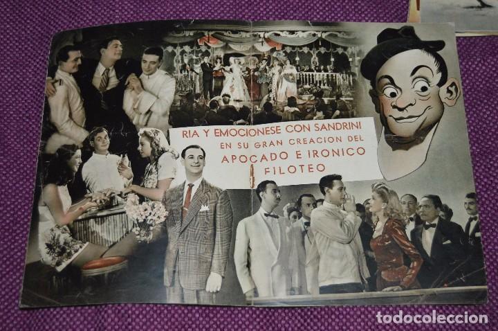 Cine: LOTE DE 6 GUÍAS PUBLICITARIAS DE PELÍCULAS ANTIGUAS - CIFESA - HUECOGRABADO FOURNIER - ¡HAZ OFERTA! - Foto 10 - 85440684