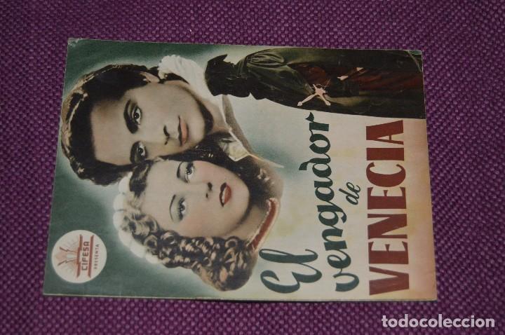 Cine: LOTE DE 6 GUÍAS PUBLICITARIAS DE PELÍCULAS ANTIGUAS - CIFESA - HUECOGRABADO FOURNIER - ¡HAZ OFERTA! - Foto 14 - 85440684