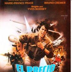 Cinema: EL PRECIO DEL PELIGRO (GUÍA PUBLICITARIA ORIGINAL SIMPLE) MICHEL PICCOLI, YVES BOISSET, GERARD LANVI. Lote 85468732
