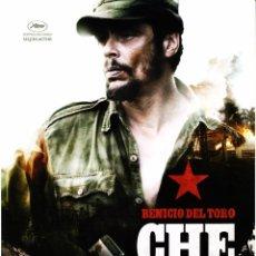 Cinema: CHE EL ARGENTINO (GUÍA PUBLICITARIA ORIGINAL DOBLE) BENICIO DEL TORO, STEV SODERBERGH. Lote 85471924