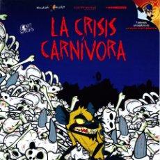 Cine: LA CRISIS CARNIVORA (GUÍA PUBLICITARIA ORIGINAL SIMPLE) ENRIQUE SAN FRANCISCO, PEDRO REYES. Lote 85683780