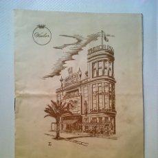 Cine: PROGRAMA - REY DE REYES - CINE WINDSOR DE BARCELONA 1962 - SAMUEL BRONSTON. Lote 87295196
