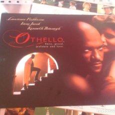 Cine: OTHELLO (GUÍA PUBLICITARIA SIMPLE ORIGINAL) LAURENCE FISHBURNE, KENNETH BRANAGH. Lote 87338504