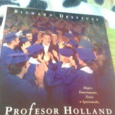 Cine: PROFESOR HOLLAND (GUÍA PUBLICITARIA SIMPLE ORIGINAL) RICHARD DREYFUSS, OLYMPIA DUKAKIS. Lote 87338900