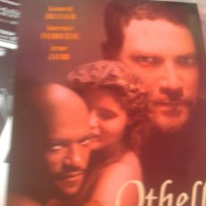 Cine: OTHELLO (GUÍA PUBLICITARIA SIMPLE ORIGINAL) LAURENCE FISHBURNE, KENNETH BRANAGH. Lote 87339384