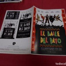 Cine: GUIA PUBLICITARIA DE LA PELICULA EL BAILE DEL PATO.. Lote 87611376