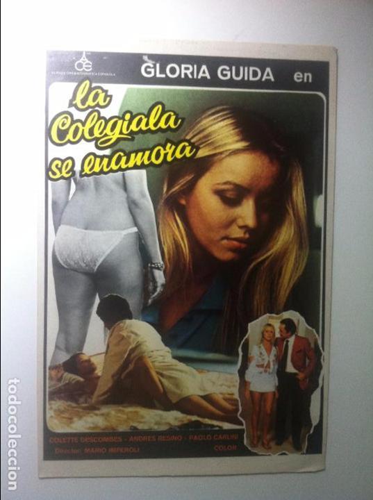 8e16da91d LA COLEGIALA SE ENAMORA - GLORIA GUIDA - ANDRES RESINO / MARIO IMPEROLI -  GUIA DOBLE
