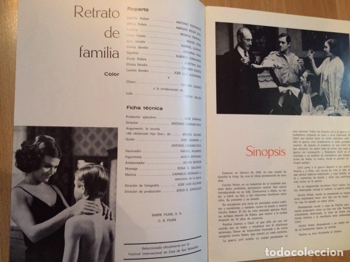 Cine: Guía retrato de familia.antonio ferrandis amparo soler leal.cb films - Foto 2 - 88761615