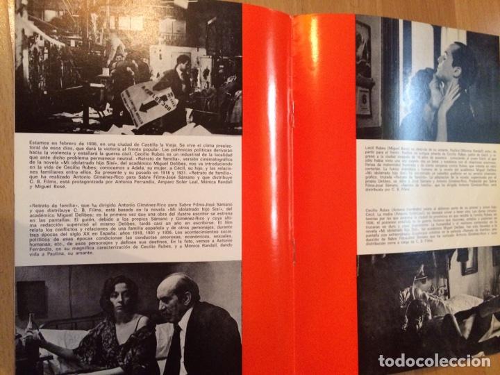 Cine: Guía retrato de familia.antonio ferrandis amparo soler leal.cb films - Foto 3 - 88761615