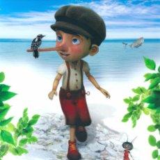 Cine: PINOCHO Y SU AMIGA COCO (GUÍA PUBLICITARIA SIMPLE ORIGINAL) ANIMACION. Lote 89249900