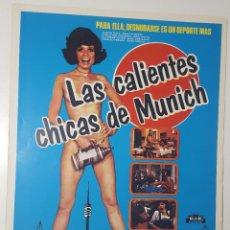 Cine: LAS CALIENTES CHICAS DE MUNICH - ELFRIEDE PAYER - GUNTHER MOHNER / WALTER BOOS - GUIA DOBLE. Lote 89418960