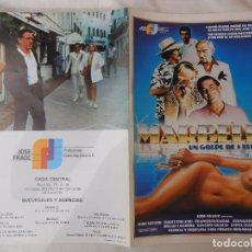 Cine: MARBELLA, UN GOLPE DE 5 ESTRELLAS. 1985. Lote 89760040