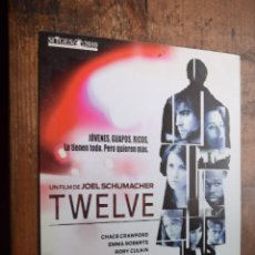 Cine: TWELVE, CHACE CRAWFORD, EMMA ROBERTS. Lote 89945784