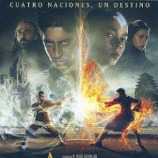 Cine: AIRBENDER EL ULTIMO GUERRERO(GUÍA PUBLICITARIA SIMPLE ORIGINAL).KUNG FU. ARTES MARCIALES.. Lote 90142720