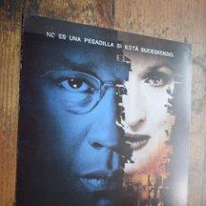 Cine: EL MENSAJERO DEL MIEDO, DENZEL WASHINGTON, MERYL STREEP. Lote 90412014