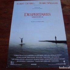 Cine: DESPERTARES - ROBERT DE NIRO, ROBIN WILLIAMS, MAX VON SIDOW - GUIA. Lote 90857175