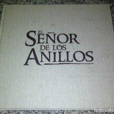 Cine: EL SEÑOR DE LOS ANILLOS LA COMUNIDAD DEL ANILLO LUJO PRESSBOOK TAPA DURA AURUM ¡ARTÍCULO EXCLUSIVO!. Lote 180033023