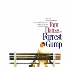 Cine: FORREST GUMP GUIA ORIGINAL DOBLE ESTRENO, TOM HANKS . Lote 91436875