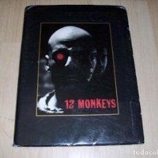Cine: 12 MONOS. 12 MONKEYS. KIT DE PRENSA USA. INCLUYE 4 FOTOS. UNIVERSAL PICTURES. TERRY GILLIAM. 1995.. Lote 93104210