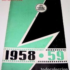 Cine: ANTIGUO CATALOGO DE CIFESA 1958 - 1959 ANTIGUO CATALOGO DE CIFESA 1958 - 1959 CON PELICULAS COMO :. Lote 93161270