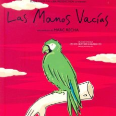Cine: LAS MANOS VACIAS. GUIA ORIGINAL ESTRENO.. Lote 93228185