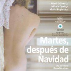 Cine: MARTES DESPUES DE NAVIDAD. GUIA ORIGINAL ESTRENO.. Lote 93235175