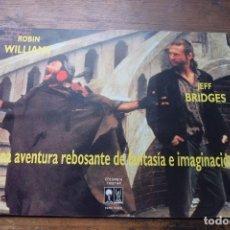 Cine: EL REY PESCADOR, ROBIN WILLIAMS, JEFF BRIDGES. Lote 94297938