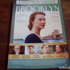 Cine: BROOKLYN - SAOIRSE RONAN, JIM BRODBENT, JULIE WALTERS, EMORY COHEN, DOMHNALL GLEESON - GUIA. Lote 194730646