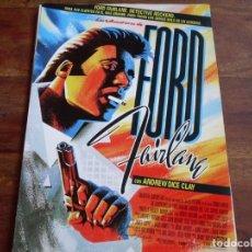 Cine: LAS AVENTURAS DE FORD FAIRLANE - ANDREW DICE CLAY, LAUREN HOLLY, PRISCILLA PRESLEY - GUIA. Lote 176690427