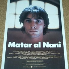 Cine: MATAR AL NANI - GUIA ORIGINAL MUY DIFICIL -IMPORTANTE LEER DESCRIPCION. Lote 94436722