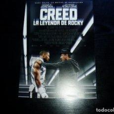 Cine: CREED LA LEYENDA DE ROCKY. GUIA PUBLICITARIA SENCILLA. BUEN ESTADO.ORIGINAL.. Lote 218505458
