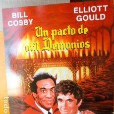 Cine: UN PACTO DE MIL DEMONIOS -GUIA PUBLICITARIA -. Lote 94923115