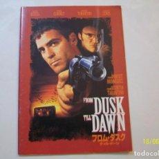 Cine: ABIERTO HASTA EL AMANECER. FROM DUSK TILL DAWN. PROGRAMA DE CINE. TARANTINO. RODRIGUEZ. 1996. Lote 95974351