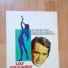 Cinema: B-- GUIA SIMPLE DE LA PELICULA--LOS CASADOS Y LA MENOR. Lote 96524731