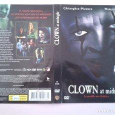 Cine: CLOWN AT MIDNIGHT (CARATULA). Lote 96963395