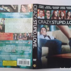 Cine: CRAZY, STUPID, LOVE (CARATULA). Lote 96963579
