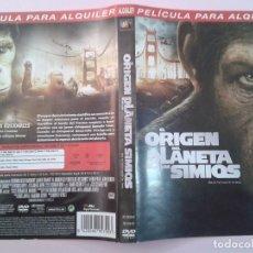Cine: EL ORIGEN DEL PLANETA DE LOS SIMIOS (CARATULA). Lote 96963927