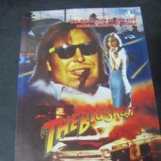 Cine: GUIA PUBLICITARIA PUBLICIDAD VIDEO CLUB VHS THE BIG SWEAT ROBERT Z'DAR ROBERT Z'DAR. Lote 97081687