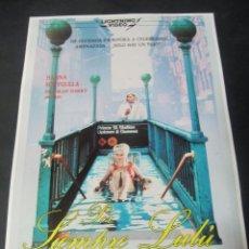 Cine: GUIA PUBLICITARIA PUBLICIDAD VIDEO CLUB VHS POR SIEMPRE LULU INTERVIDEO LAX LIGHTNING FOREVER. Lote 97082015