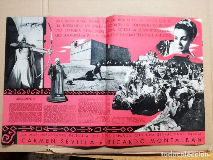 3796cf0d97 Cine  LOS AMANTES DEL DESIERTO CARMEN SEVILLA RICARDO MONTALBAN JOSE  GUARDIOLA GUIA ORIG CEA -