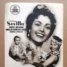 Cine: REQUIEBRO CARMEN SEVILLA GUIA ORIGINAL CIFESA ESTRENO. Lote 97319179