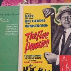 Cine: CATALOGO ORIGINAL MERCURIO FILMS- TEMPORADA 1960- 61. Lote 97596115