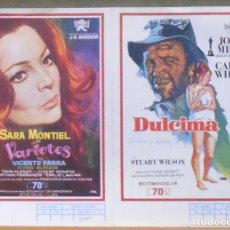 Cine: G7858 VARIETES SARA MONTIEL EXCLUSIVAS FLORALVA LISTA DE MATERIAL ORIGINAL 1971. Lote 97724655