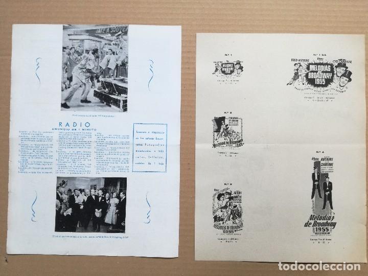 Cine: MELODIAS DE BROADWAY 1955 - GUIA DOBLE - Foto 2 - 97785259