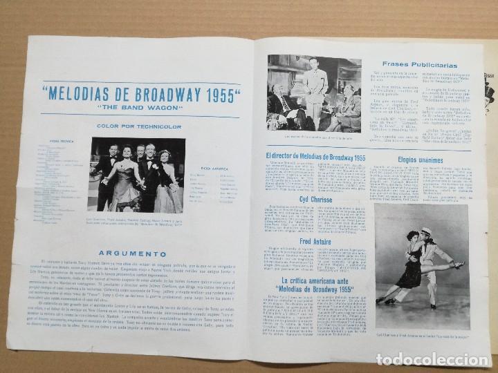 Cine: MELODIAS DE BROADWAY 1955 - GUIA DOBLE - Foto 3 - 97785259
