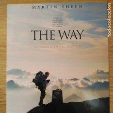 Cine: THE WAY - APROX 20X30 GUIA ORIGINAL CINE (S2). Lote 98406131