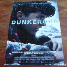 Cine: DUNKERQUE - JAMES D'ARCY, TOM HARDY, KENNETH BRANAGH - DIR. CHRISTOPHER NOLAN - GUIA. Lote 148227636