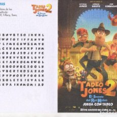 Cine: TADEO JONES 2. Lote 142940138