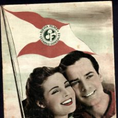 Cine: GUIA ORIGINAL ESTRENO: PLUMA AL VIENTO - CARMEN SEVILLA, GEORGES GUETARY - SUEVIA FILMS. Lote 99805451
