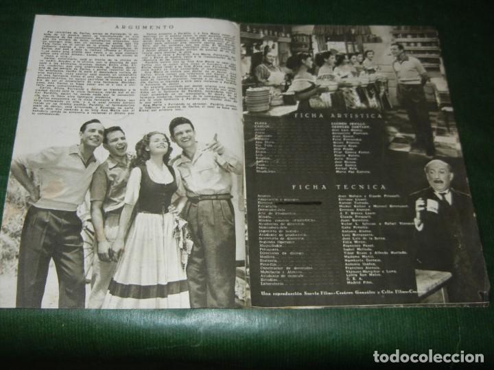 Cine: GUIA ORIGINAL ESTRENO: PLUMA AL VIENTO - CARMEN SEVILLA, GEORGES GUETARY - SUEVIA FILMS - Foto 2 - 99805451
